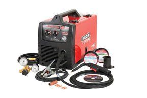 Lincoln Electric Easy MIG 140 115V Flux Cored/MIG Welder   140 Amp