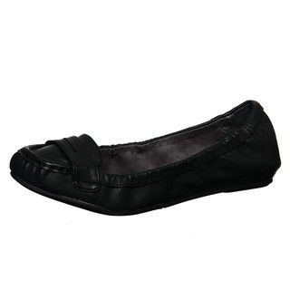 Sam & Libby Womens Samantha Black Oxford Flats