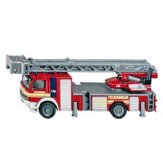 87 MERCEDES Camion Pompier grd. échelle   Echelle  1/87   Model