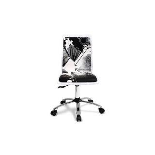 Chaise de bureau DOWNTOWN     Dimensions  L.42 x P.40 x H.87 cm