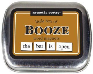 Magnetic Poetry: Little Box Of Booze Words: Sports