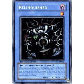 Yu Gi Oh Limited Edition Single Card   Relinquished   MC1