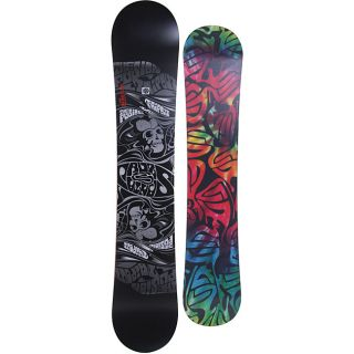 Santa Cruz Mens Black Fusion Trip Out 160cm Snowboard