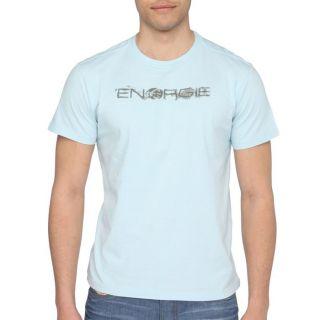 ENERGIE T Shirt Kieffer Homme Bleu ciel   Achat / Vente T SHIRT