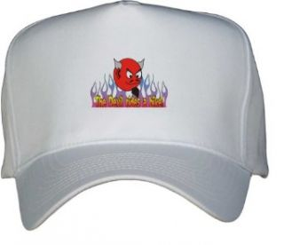 The Devil rides a bike White Hat / Baseball Cap Clothing