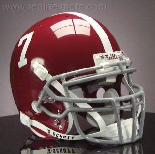 ALABAMA CRIMSON TIDE Football Helmet Sports & Outdoors