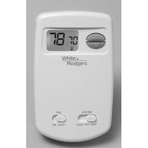 White Rodgers 1E78 144 70 Series Economy Single Stage Non Programmable