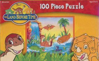 100 Pc Land Before Time Puzzle from Pressman Toy Corp