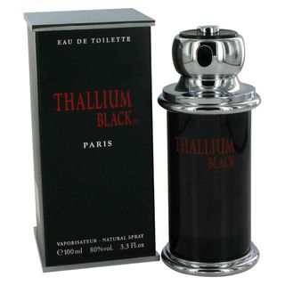 Yves De Sistelle Thallium Black Mens 3.3 ounce Eau de Toilette