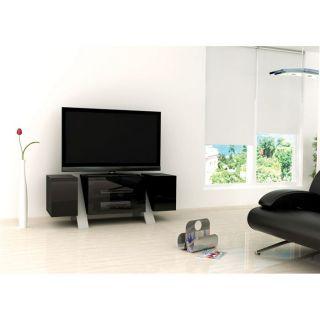 Meubles prillo on popscreen - Meuble tv noir mat ...