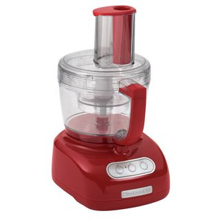 KitchenAid KFP750ER Empire Red 12 cup Food Processor