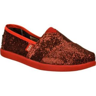 Girls Skechers BOBS World Red/Black
