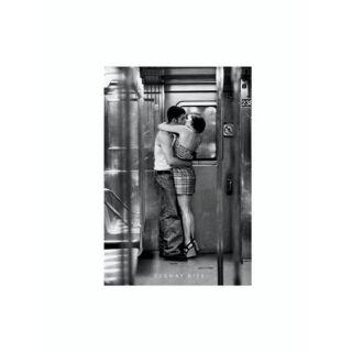 POSTER SUBWAY KISS 61 x 91,5 cm   Achat / Vente TABLEAU   POSTER