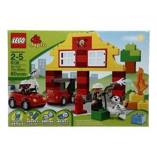 LEGO Duplo My First Fire Station Toy Set