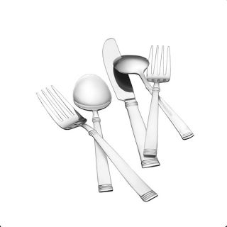 Pfaltzgraff 85 piece Linear Flatware Set