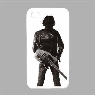 Bruce Springsteen Case Iphone 4 High Quality Cases White Color Logo