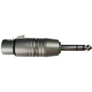 HOSA GXP 143 XLR Female to Balanced 1/4 inch Male Adapter