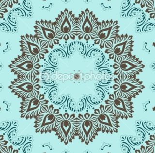 Retro wallpaper  Vector Stock © Roberto Castillo #9554759