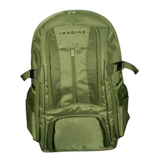 Imagine Eco friendly Large Green 17 inch Laptop Backpack Today $64.99