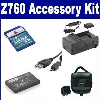 143 Charger, USBU8 USB Cable, SDC 27 Case, KSD2GB Memory Card Camera