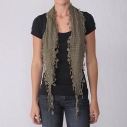 Hailey Jeans Co. Pretty Angel Womens Lacy Detail Scarf