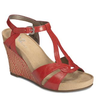 A2 by Aerosoles Womens Plushfever Wedge Sandals