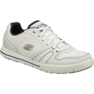 Mens Skechers Relaxed Fit Arcade II Streamline White/Blue