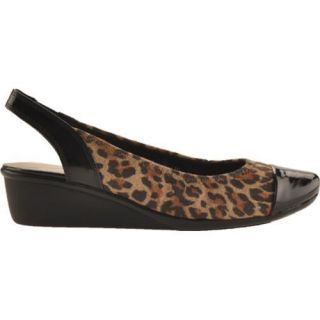 Womens AK Sport Durable Leopard Fabric