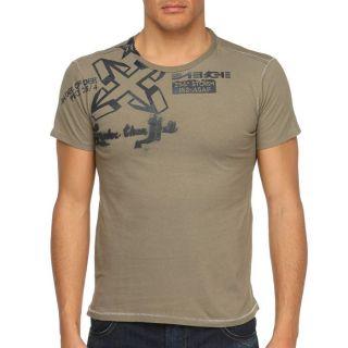 ENERGIE T Shirt Belton Homme Kaki   Achat / Vente T SHIRT ENERGIE T