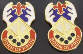 145th Support Battalion Distinctive Unit Insignia   Pair