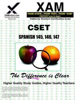 CSET Spanish 145, 146, 147 (XAM CSET) Sharon Wynne 9781581978025