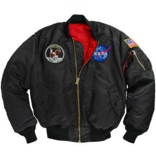 Alpha Industries Apollo MA 1 Flight Jacket Clothing