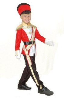 Military Toy Soldier Childs Fancy Dress Costume L 146cms
