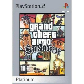 GTA SAN ANDREAS / PS2 Platinum     Achat / Vente PLAYSTATION 2 GTA SAN