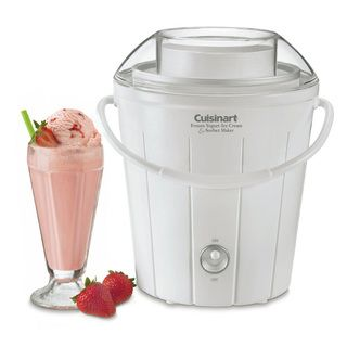 Cuisinart ICE 25FR Classic Frozen Yogurt Ice Cream and Sorbet Maker