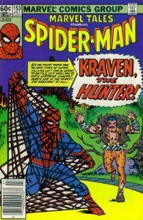 Marvel Tales #153  Starring Spider Man in Kraven the Hunter (Marvel