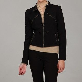 Romeo & Juliet Womens Zip Front Jacket
