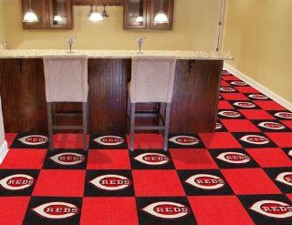MLB   Cincinnati Reds Carpet Tiles