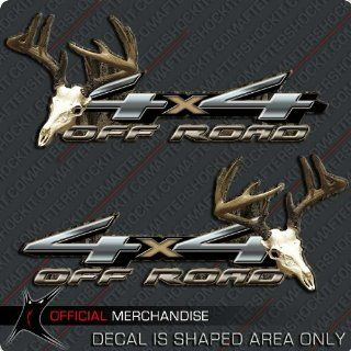 Skull Off Road Camo Decal F 150 Silverado Ram 1500: Sports & Outdoors