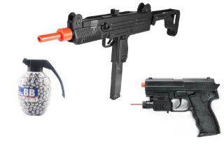 Auto Electric Airsoft UZI Machine Gun 150 FPS Large