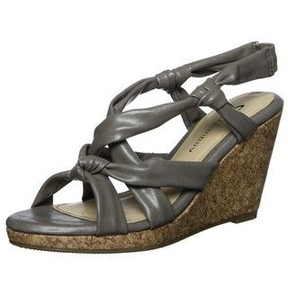 CL by Chinese Laundry Womens Alondra Taupe Wedge Sandals FINAL SALE