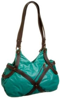 Latico P.S. Strappy Tear Drop Medium Satchel,Caribe,one size Shoes
