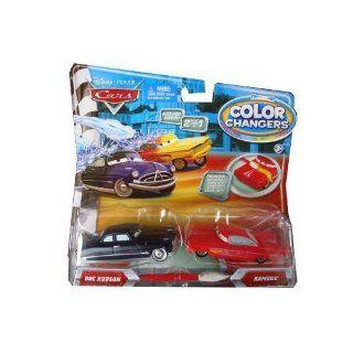 Disney / Pixar CARS Movie 155 Color Changers 2Pack Doc