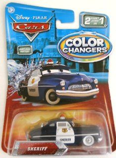 Disney / Pixar CARS Movie 155 Color Changers Sheriff oys & Games
