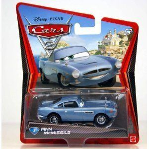 Disney / Pixar CARS 2 Movie 155 Die Cast Car #2 Finn