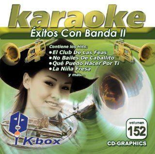 KBO 152 xitos Con Banda Ii(Karaoke) Banda El Recodo