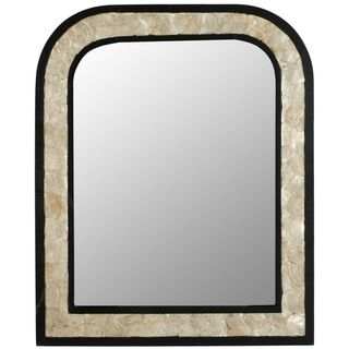 Gregory Dark Brown Mirror
