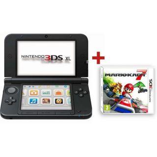 CONSOLE 3DS XL BLEU NOIR + MARIO KART 7 3D   Achat / Vente DS 3DS XL