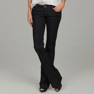 William Rast Womens Naples Wash Bootcut Jeans