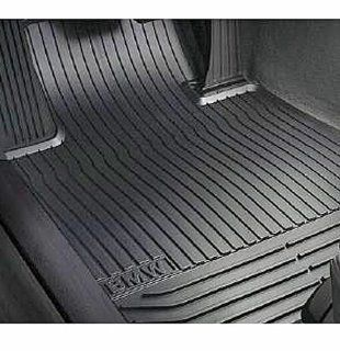 BMW 51 47 2 153 726 All Weather Rubber Floor Mats   Beige Set of 2